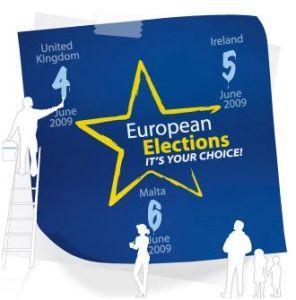 Europe Elections 2009 Logo