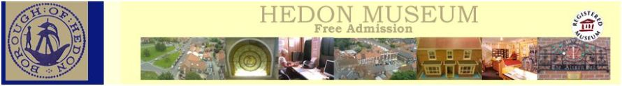 Hedon Museum Web Banner