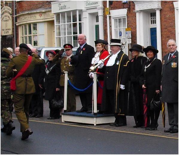 Armistice Parade Salute