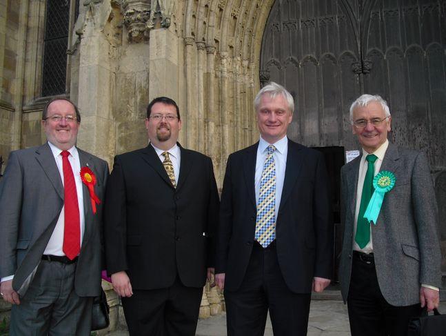 Ian Saunders, Craig Dobson, Graham Stuart, Bill Rigby