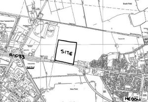 Hedon Aerodrome site location