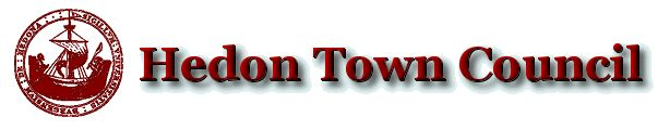 Hedon Town Council website logo