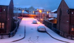 Snow - Nov 25th - Hedon