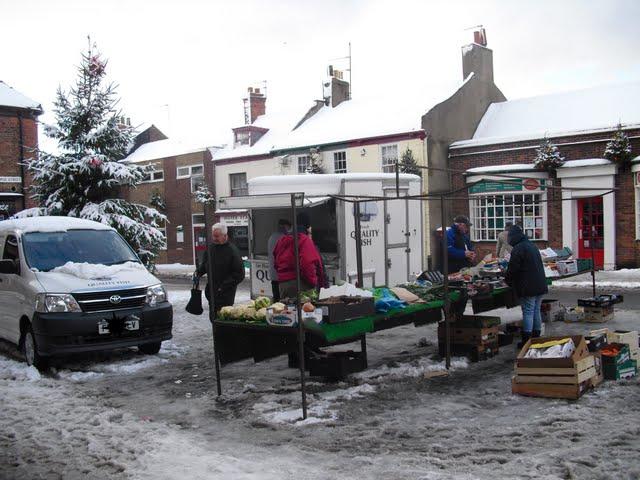 Hedon Market 1st December 2010