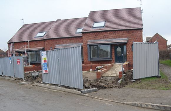 New council homes in Hedon
