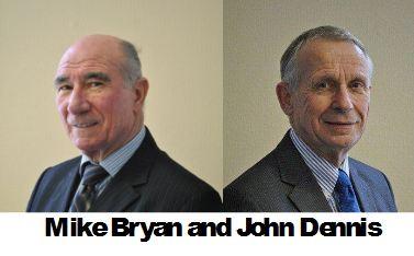 Mike Bryan and John Dennis