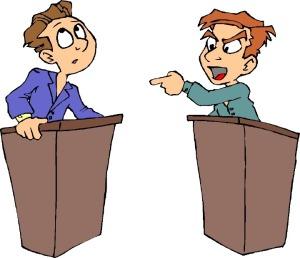 debate clip art