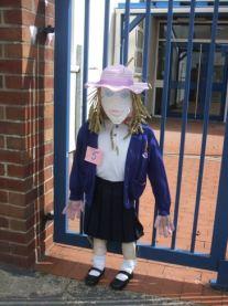 Scarecrow Schoolgirl