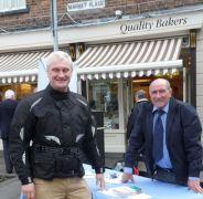 Graham Stuart and Mike Bryan Hedon Market Place