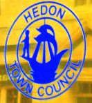 Hedon Town Council logo - plaque saturated