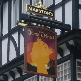 A new Queen's head at the Queen's Head, Hedon