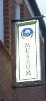 Hedon Museum sign