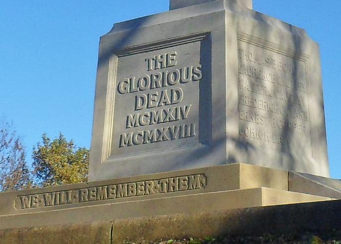 Hedon Cenotaph Base