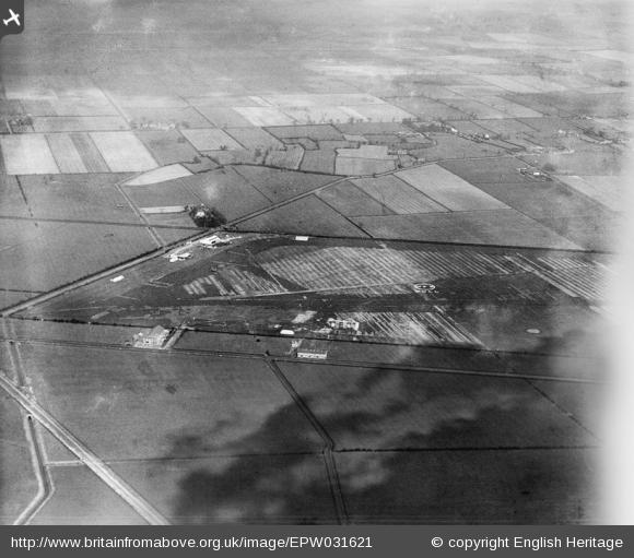 Hedon Aerodrome 1930 from the South