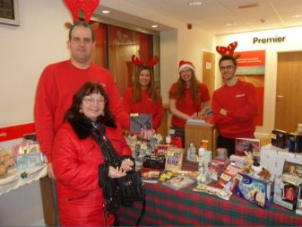 HSBC Bank Staff raise money for Little Angels