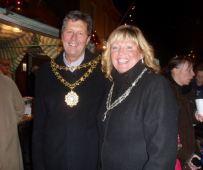 Hedon Mayor and Mayoress Jim and Sue Lindop