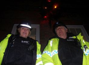 PCs Mandy Foster and Bob Pyle ensure we all have a safe time