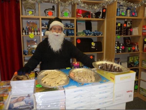 Santa Gav at Hedon Inks & Toners