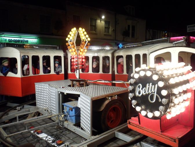 The Betty Train Children's Ride
