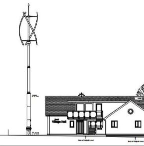 Paull Village Hall wind turbine opposed by planning officers