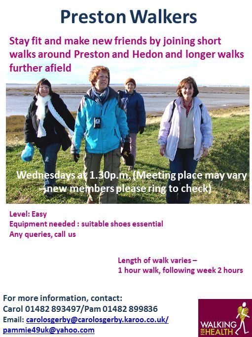 Preston Walkers poster 2013