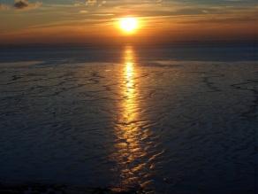Paull foreshore sunset