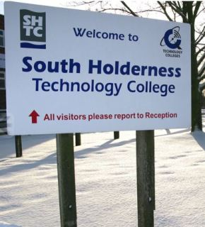 Heating Problem closes South Holderness Technology College