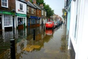 St Augustine's Gate flooding