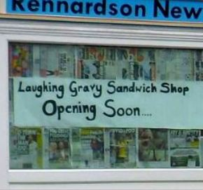 Food and drink theme for new shops?