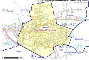It is ELECTION DAY for a new Hedon Town Councillor