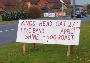 """The Shine"" at the King's Head, Hedon"