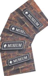 Museum Fan Signs