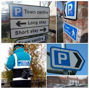 Parking collage