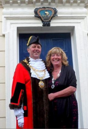 Interview with the Mayor and Mayoress