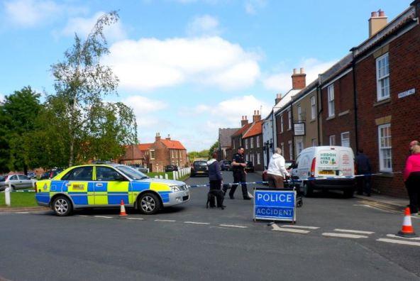 Police cordon off Market Hill 1