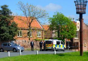 Police cordon off Market Hill scene of incident 1