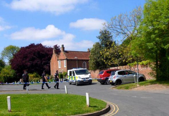 Police cordon off Market Hill scene of incident 2