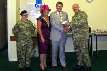 Army Cadets donation