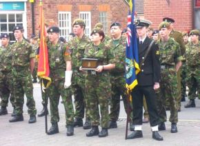 Army Cadets Freedom of Hedon event