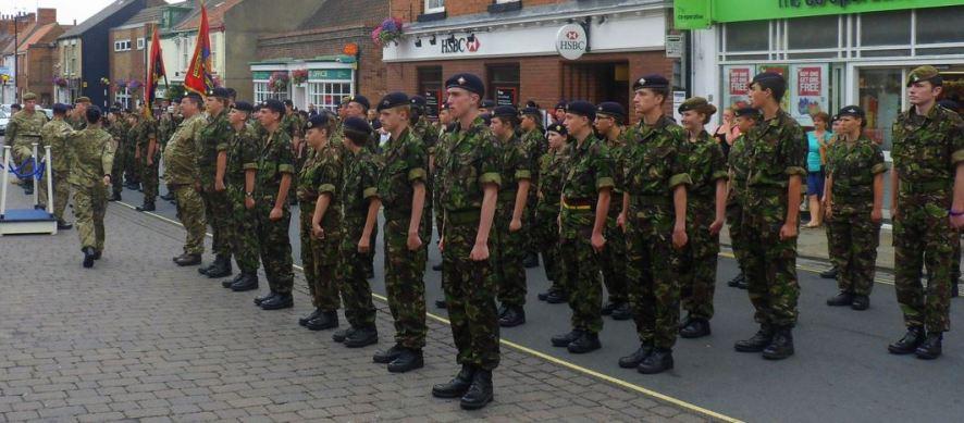 Freedom of Hedon - On parade