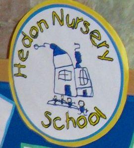 Hedon Nursery School - drawn logo