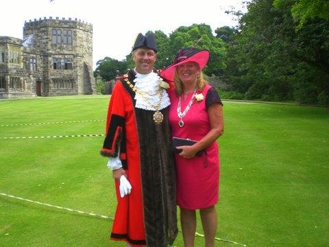 Hedon Mayor and Mayoress Yorkshire Day Skipton