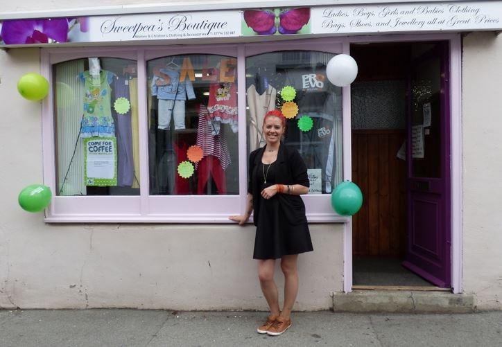 Bernice Abey Sweetpeas Boutique
