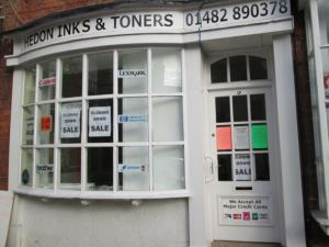 Hedon Inks and Toners closing down
