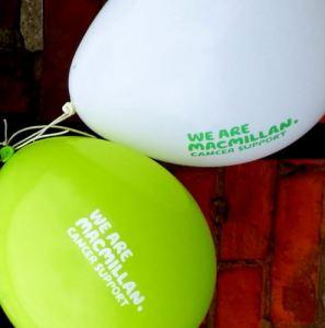 Macmillan Balloons