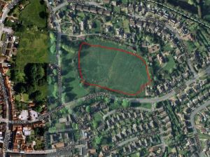 Wychcroft - Google Map location of proposed development area