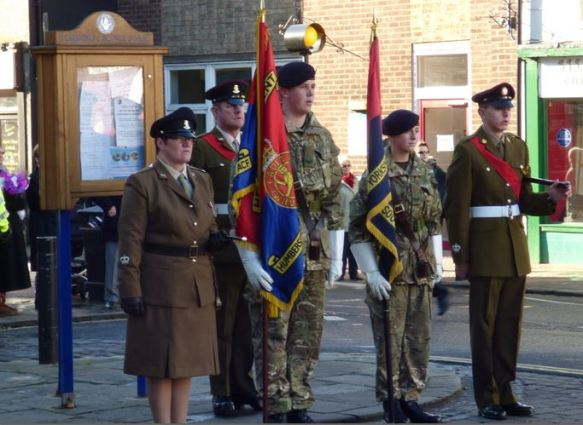 Humberside and South Yorkshire Army Cadet Force colours