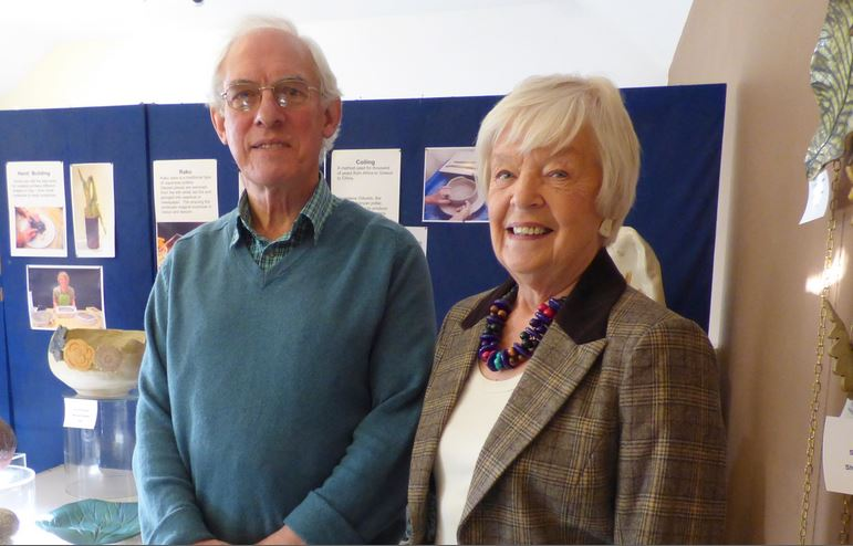 Dr Martin Craven and Julie Marshall