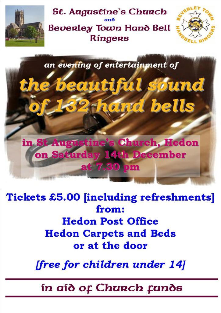 Handbells A4 poster