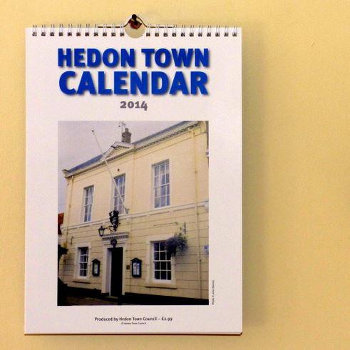 Hedon Town Calendar sq